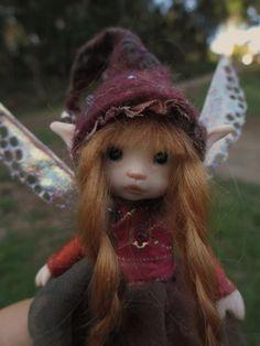 sweet tiny ooak posable 4.5 inch fairy door throughthemagicdoor