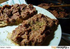Pomazánka z fazolí Beef, Food, Meat, Essen, Meals, Yemek, Eten, Steak