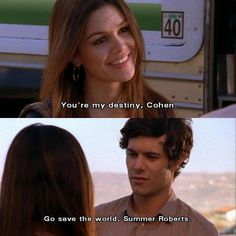 love them- (Seth & Summer) The O.C.