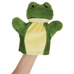 MY FIRST FROG PUPPET