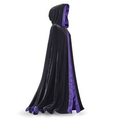 Laurie Cabot™ Reversible Purple Cape - Women's Clothing & Symbolic Jewelry – Sexy, Fantasy, Romantic Fashions