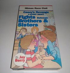 Human Race Club, Fights, Brothers and Sisters (VHS) Childrens Learning Joy Berry