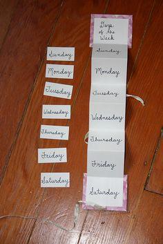 jours de la semaine
