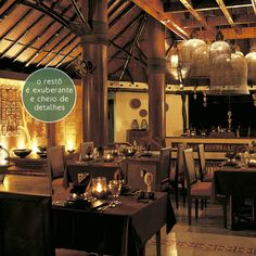 A charming and exuberant restaurant.
