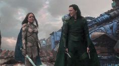 What do we say to the god of Death? Not today. — Loki & the Valkyrie alternate title: Loki looking...