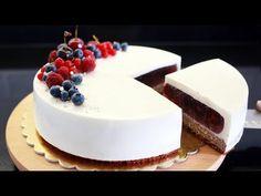 Gourmet Recipes, Cake Recipes, Dessert Recipes, Gourmet Foods, Panna Cotta, Cake Decorating Tutorials, Molecular Gastronomy, Pavlova, Plated Desserts