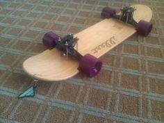 Lowrider skateboard