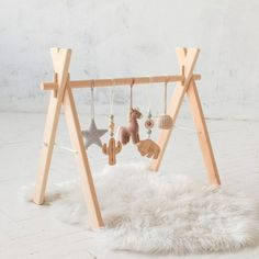 Cowboy Baby play gym OR baby gym mobiles. Baby shower gift Our Cowboy baby play gym includes: 1 x wooden GYM FRAME/sta Cowboy Baby, My Little Baby, Baby Love, Bebe Gym, Baby Shower Gifts, Baby Gifts, Baby Car Mirror, Baby Sleepers, Play Gym
