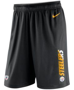 Nike Men s Pittsburgh Steelers Practice Fly 3.0 Dri-FIT Shorts Men - Sports  Fan Shop By Lids - Macy s 31e4659a3