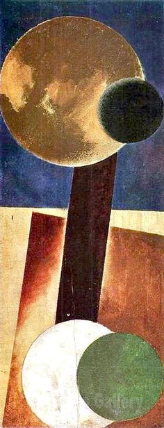 Alexander Rodchenko - Non Objective Composition 1918 I Reproduction Oil Painting
