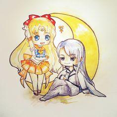 Sailor Venus & Kunzite