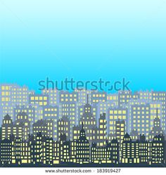 Set of pixel small building isolated on white background - stock vector