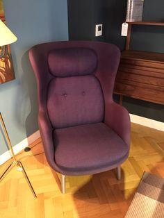 Purple Fritz Hansen Ro chair