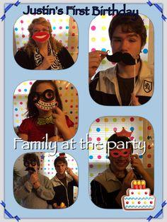 Justin 1st birthday  Family fun