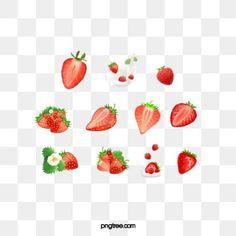 Strawberry Flower, Strawberry Juice, Kiwi Juice, Fresco, Fruit Icons, No Photoshop, Fresh Fruit, Iphone Wallpaper, Creative