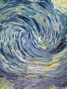 Vincent van Gogh, The Starry Night (detail), 1889