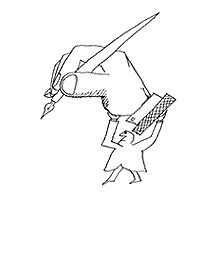Additional images of Saul Steinberg's works may be found on the following websites.