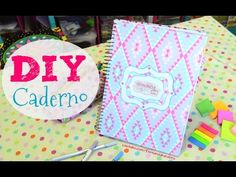 DIY Customização e Organização de Caderno - YouTube