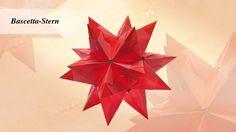 In diesem Bastelclip präsentiert Karin Jittenmeier die Faltung des berühmten Bascetta-Sterns. Lasst euch inspirieren und Bastelt gleich mit!