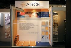 Compact showroom display for Aircell Experience Center, Breathe Easy, Showroom, Compact, Innovation, Display, Design, Floor Space, Billboard