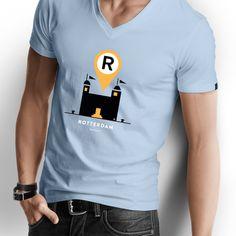 T shirt Rotterdam, Icons serie, Hotel New York Rotterdam
