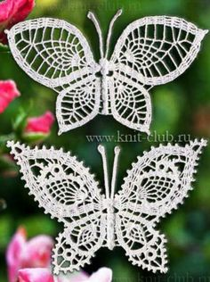 1/3 Crochet Butterfly Patterns