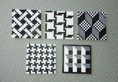 Pearler Bead Patterns, Perler Patterns, Mosaic Patterns, Beading Patterns, Perler Bead Templates, Diy Perler Beads, Perler Bead Art, Hama Beads Coasters, Diy Coasters