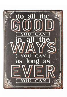 do all the good