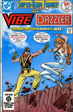 Super-Team Family: The Lost Issues!: Vibe and Dazzler
