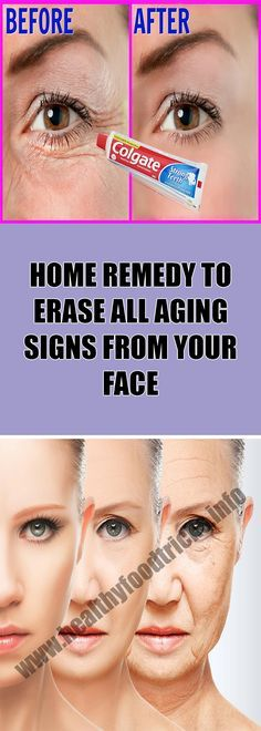 HOME REMEDY TO ERASE ALL AGING SIGNS FROM YOUR FACE – Healthy Food Tricks