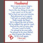 Husband Love Plaque | Zazzle