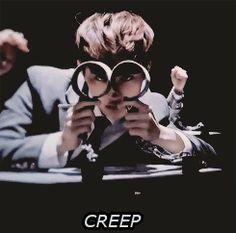 What EXO turns into when handcuffed: Still A creep, Kyungsoo.