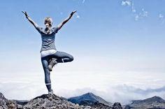 Tree Pose from Kilimanjaro yoga Yoga Tree Pose, Yoga Poses, Learn Yoga, How To Do Yoga, Body Training, Kilimanjaro, Ideal Body, Organic Herbs, Yoga Teacher Training