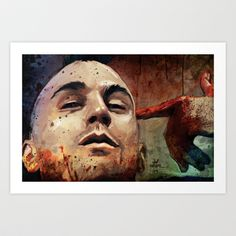 You talkin' to me? (((taxi driver)))) Art Print by Vlad Rodriguez - $20.00