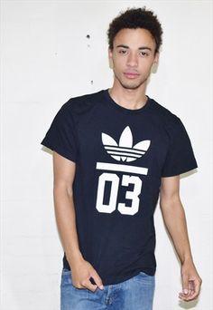 4044a20a4 Vintage 90's Adidas Black Sports T-Shirt | Headlock Vintage | ASOS  Marketplace