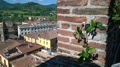 Veduta del centro storico di Umbertide, visto dalla torre della rocca. (2)