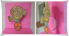 Atividade Artes Releitura Girassóis Van Gogh