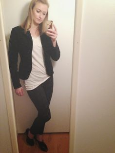 a second glance.: Cream sequined top, black print cropped pants, booties, black velvet blazer
