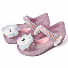 74ae92095f82 Mini Melissa Djevojke Sandale Jelly Shoes Baby Dječaci Djevojke Sandale  Rainbow Protuklizne Melissa Plaža Sandale Cipele