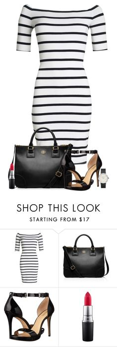 """Sin título #307"" by dannylanne on Polyvore featuring moda, Superdry, Tory Burch, MICHAEL Michael Kors, MAC Cosmetics, ToryBurch, michaelkors y mac"
