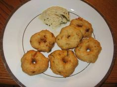Indian Recipes - Medhu Vadai
