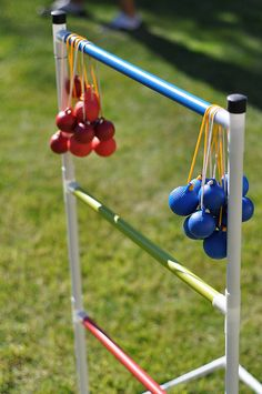 ladder ball- this is sooo much fun! Great for adults and kids to play in the backyard while grilling out.