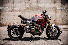 ★Ducatiモンスター1200のカスタムバイク XTR Pepo Siluro
