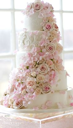 Tartas de boda - Wedding Cake - Luxe wedding cake- ~LadyLuxury~