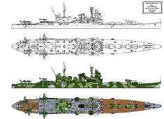Tone Kai type Heavy Cruiser Refit by Tzoli on DeviantArt New Battleship, Navy Coast Guard, Heavy Cruiser, Military Drawings, Imperial Japanese Navy, Naval History, Nautical Art, Military Weapons, Navy Ships