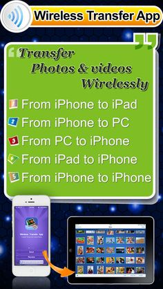 Wireless Transfer App - Share sync & backup photos pictures videos and video photo albums via wifi or personal hotspot for camera roll and photo library by Shenzhen Socusoft Co. Ltd gone Free