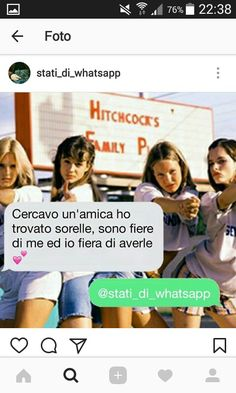 Frasi migliore amica/amiche Best Friends Tumblr, We Are Best Friends, Best Friends Forever, Bff Quotes, Tumblr Quotes, Foto Instagram, Love Your Life, Sentences, Besties