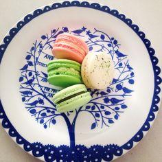Rose, Pandan + Coconut, Pistachio and Gin + Tonic macarons (using Adriano Zumbo's recipes)