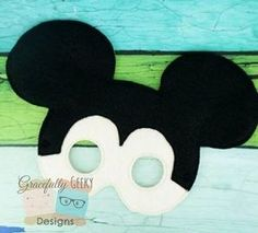Gracefully Geeky Mickey Mask