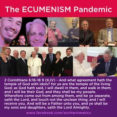 Ephesians 5:11 - And have no fellowship with the unfruitful works of darkness, but rather reprove [them].  Colossians 2:8 - Beware lest any man spoil you through philosophy and vain deceit, after the tradition of men, after the rudiments of the world, and not after Christ.  #francischan #bennyhinn #mikebickel #popefrancis #kennethcopeland #rickwarren #johnpiper #jamesrobison Ephesians 5 11, Colossians 2, Francis Chan, Pope Francis, Kenneth Cope, Benny Hinn, Rick Warren, Christian Posters, John Piper